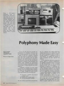 Polyphony Made Easy, page 1