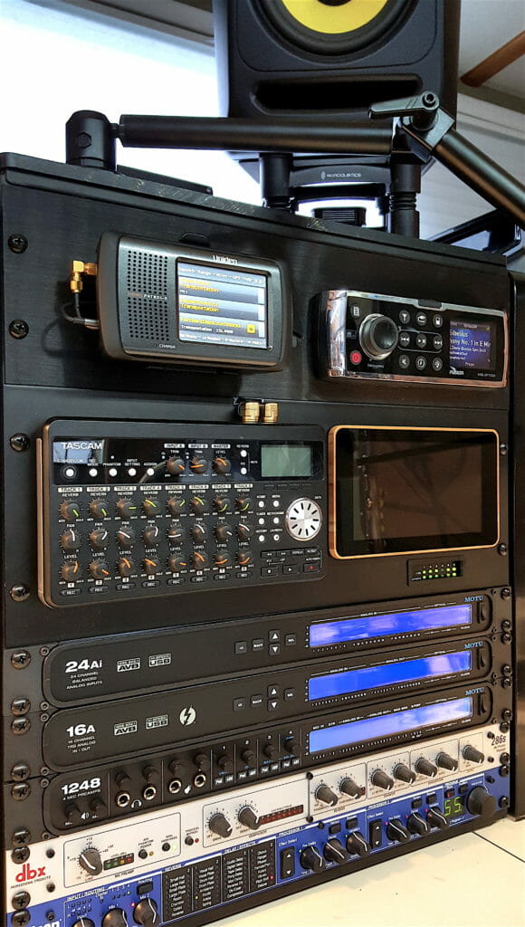 audio console on Datawake